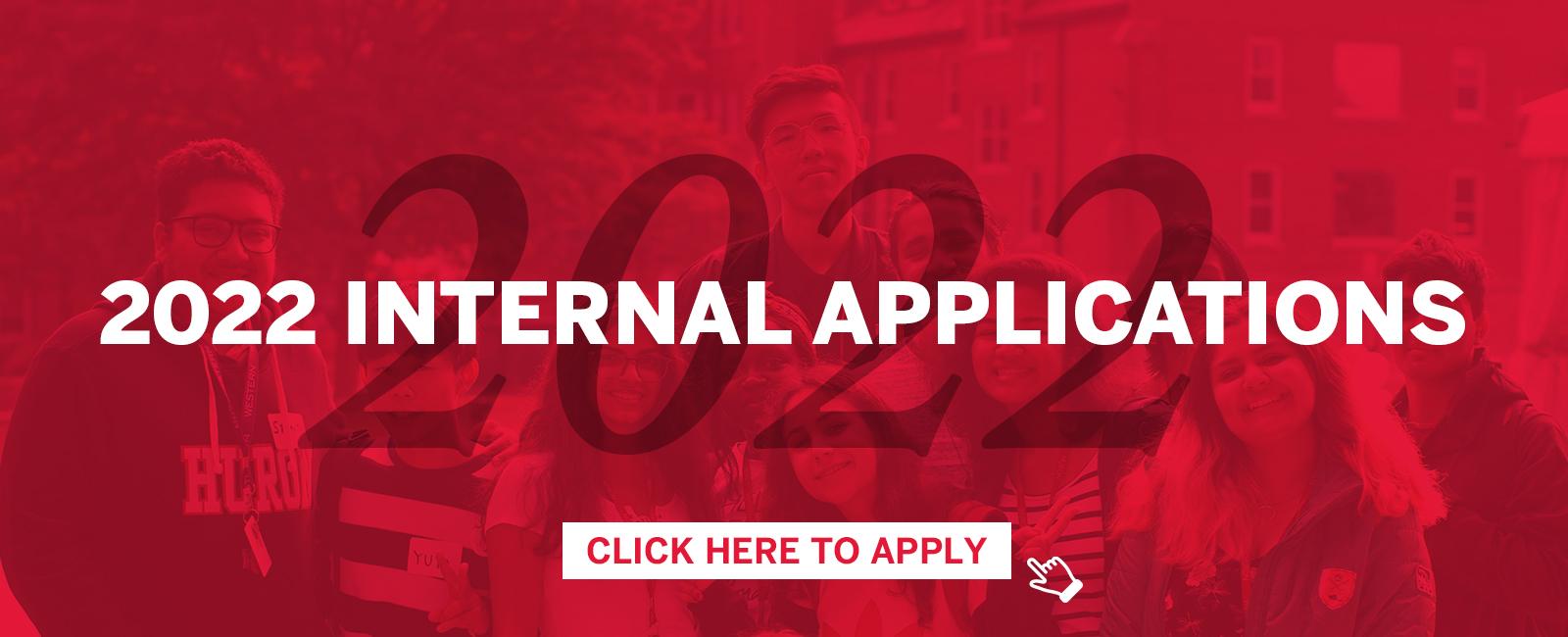 2022 Internal Applications