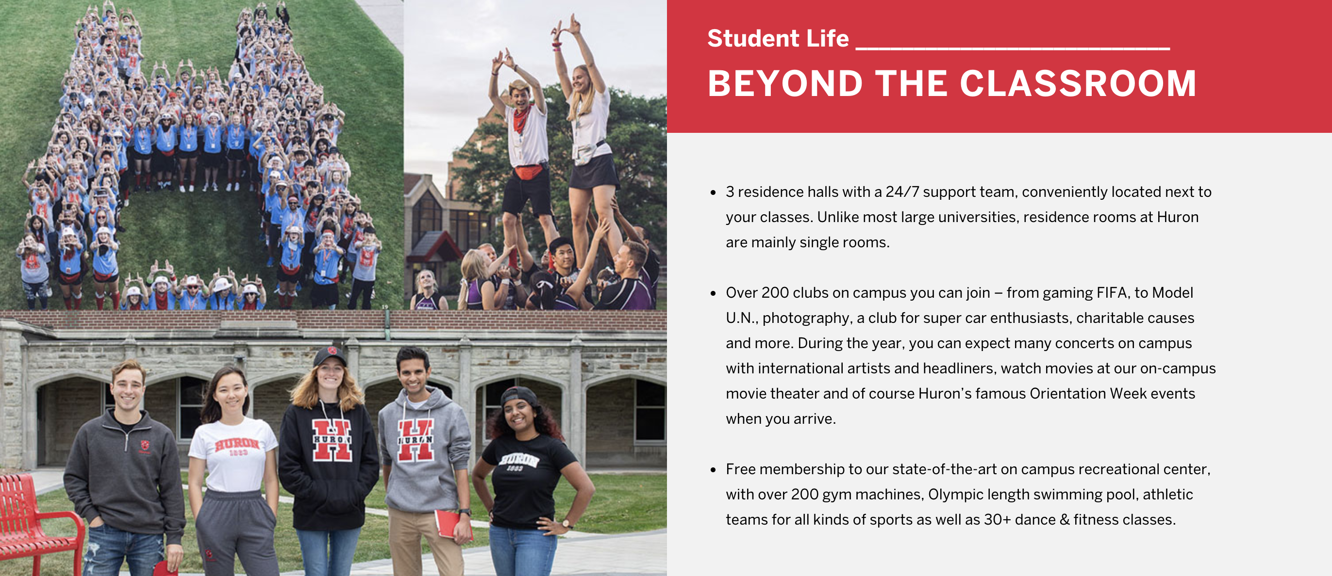 Student Life - Beyond the Classroom
