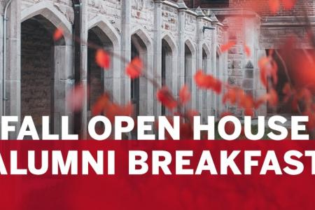 Fall Open House Alumni Breakfast
