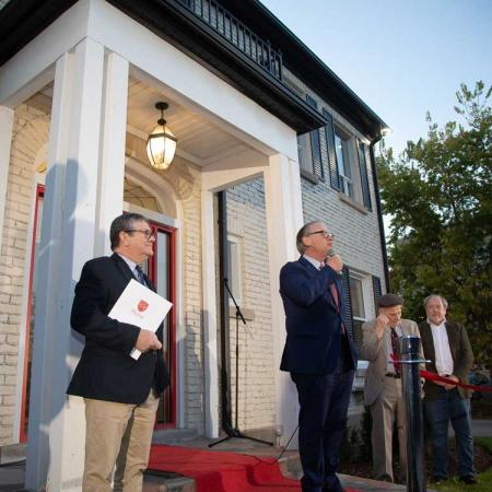 Huron at Western University celebrates the revitalization of two Heritage properties on Western Road